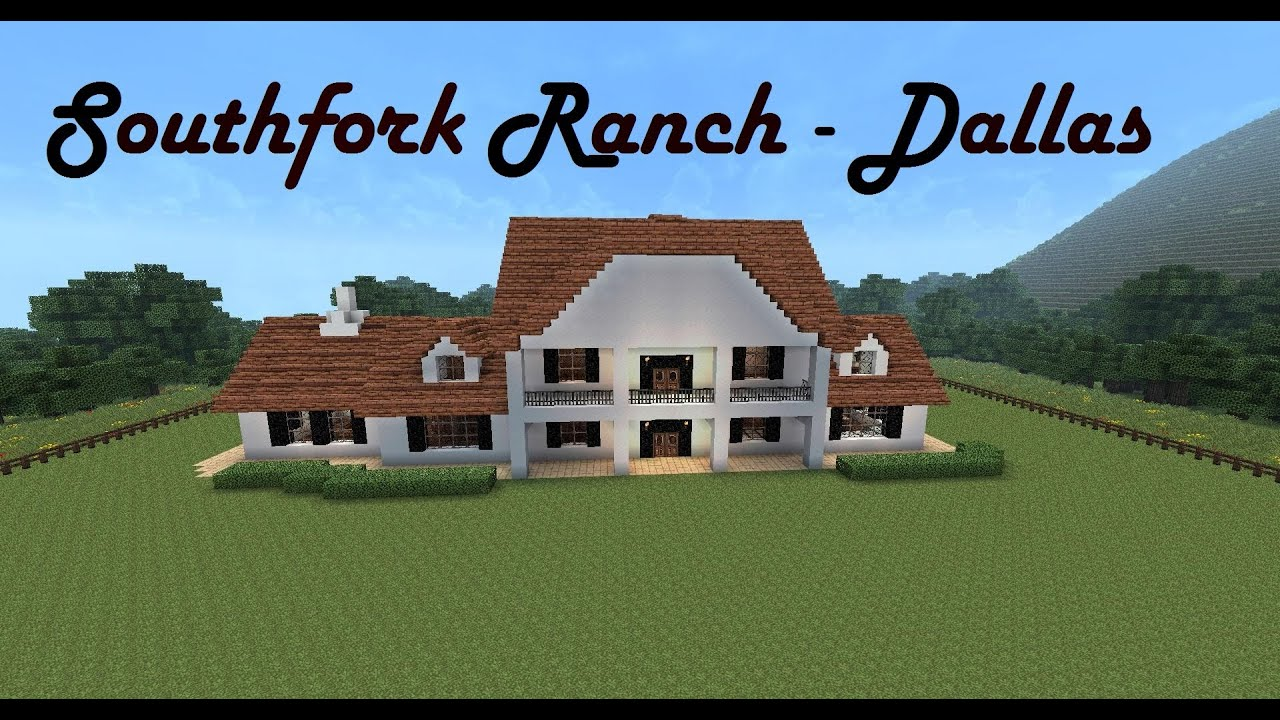 Southfork Ranch Minecraft Mansion Youtube