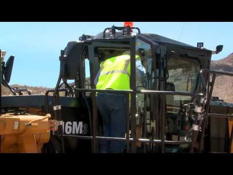 Cat® Mining Motor Grader – 16M3 – Enhanced Safety