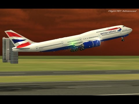 Flight 787 - Advanced - Boeing747-8i  [BRITISH AIRWAYS from UKRAIN-(UKBB) to GREECE-(LGAV)]