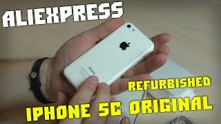 Телефон Из Китая iPhone 5С Original REFURBISHED И Видео КОНКУРС!(Конкурс - получите 1000 рублей за регистрацию! Телефон iPhone 5С Original купил на Aliexpress - https://goo.gl/YoFcu2 See the video и группа..., 2015-09-25T16:00:01.000Z)