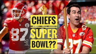 Travis Kelce & Rob Riggle on 2019 Chiefs Super Bowl Chances   The Lefkoe Show