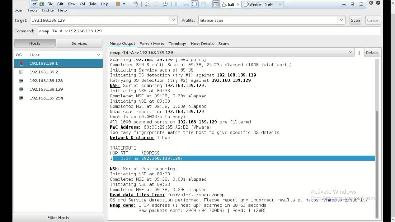 Windows command prompt nmap - Scanning Networks Using Nmap Kali Linux Windows 10