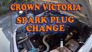 Ford Crown Victoria Spark Plug Change