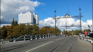 Калининград сентябрь 2018. Прокатимся по городу?