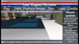 [ROBLOX] Las Vegas Glitch.