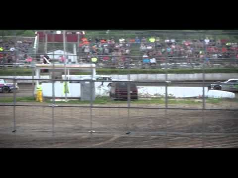 6.6.15---Peoria Speedway---Street Stock Heat Race