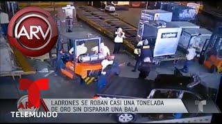Ladrones se visten de policías y realizan un asombroso robo de película | Al Rojo Vivo | Telemundo
