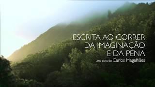 capa de Escrita ao Correr da Imaginação e da Pena de Carlos Magalhães