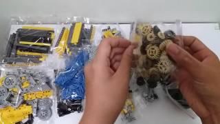 Lepin Technic 20004 (Lego 42009) mobile crane Unboxing