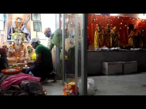 Chola offering to Shri Pir Kan Nath Ji Maharaaj