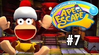 PlayStation Move Ape Escape [PT Part 7] [Haunted House]