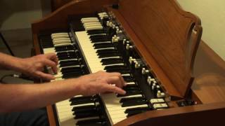 A whiter shade of pale - video of the Hammond organ track as I learned by ear