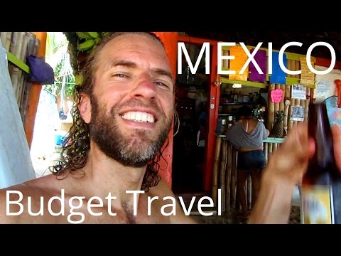 Travel in MEXICO on $25 a Day! Mexican Beach Paradise