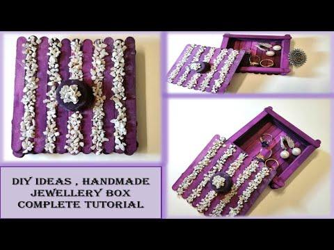 Handmade Jewellery Box | DIY Ideas | Ice Cream Sticks Ideas By Amazing