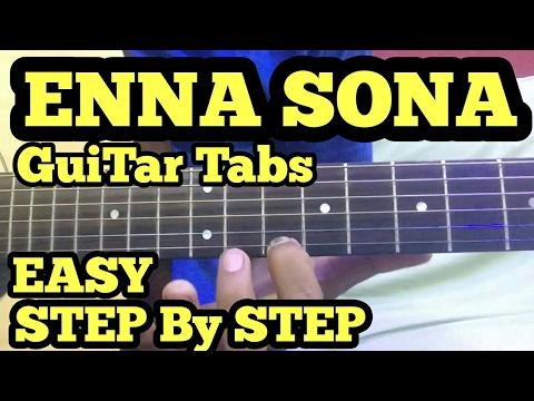 Enna Sona Guitar Tabs/intro Lesson | Arijit Singh | OK Jaanu | Shraddha,Aditya | A.R. Rahman| fuzail