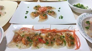 Cách Làm Bánh Bột Lọc Trong Veo - Crystal Dumplings