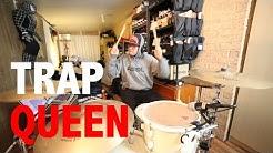 Fetty Wap - Trap Queen (Crankdat Remix) [DRUM COVER]