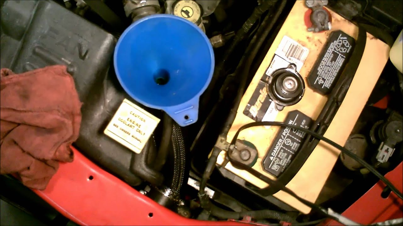 2004 Dodge Durango Engine Diagram Braun Wheelchair Lift Wiring 2001 Dakota 4.7l - Filling The Coolant System Youtube