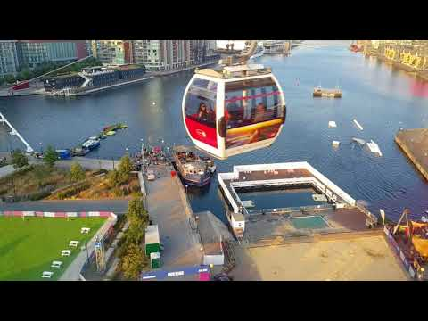 Cable Car Emirates Air Line - Greenwich London United Kingdom
