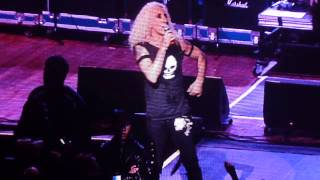 """Twisted Sister - """"I Wanna Rock"""" and """"Day of The Rocker Outro"""" M3 Rock Festival Live, 5/4/13, Song #9"""