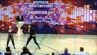 Christina BISCHOFF-MOOS und Lukas MOOS Deutsche Meisterschaft 22.06.2013 Eggenfelden Fußtechnik