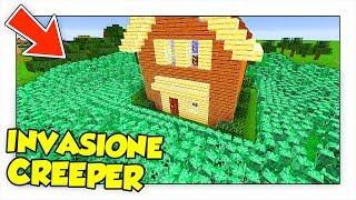 10.000 CREEPER ATTACCANO LA NOSTRA BASE! - Minecraft ITA