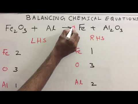 Balancing Chemical Equations Class 10 Chemistry