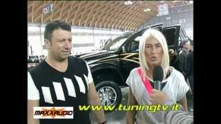 Brigitta Bulgari a spasso per My Special Car  - www.tuningtv.it