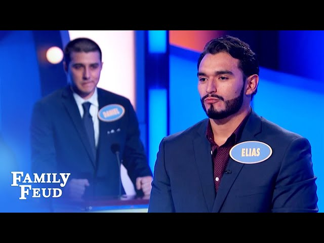 Back-to-back wins for the Ortiz boys? | Family Feud
