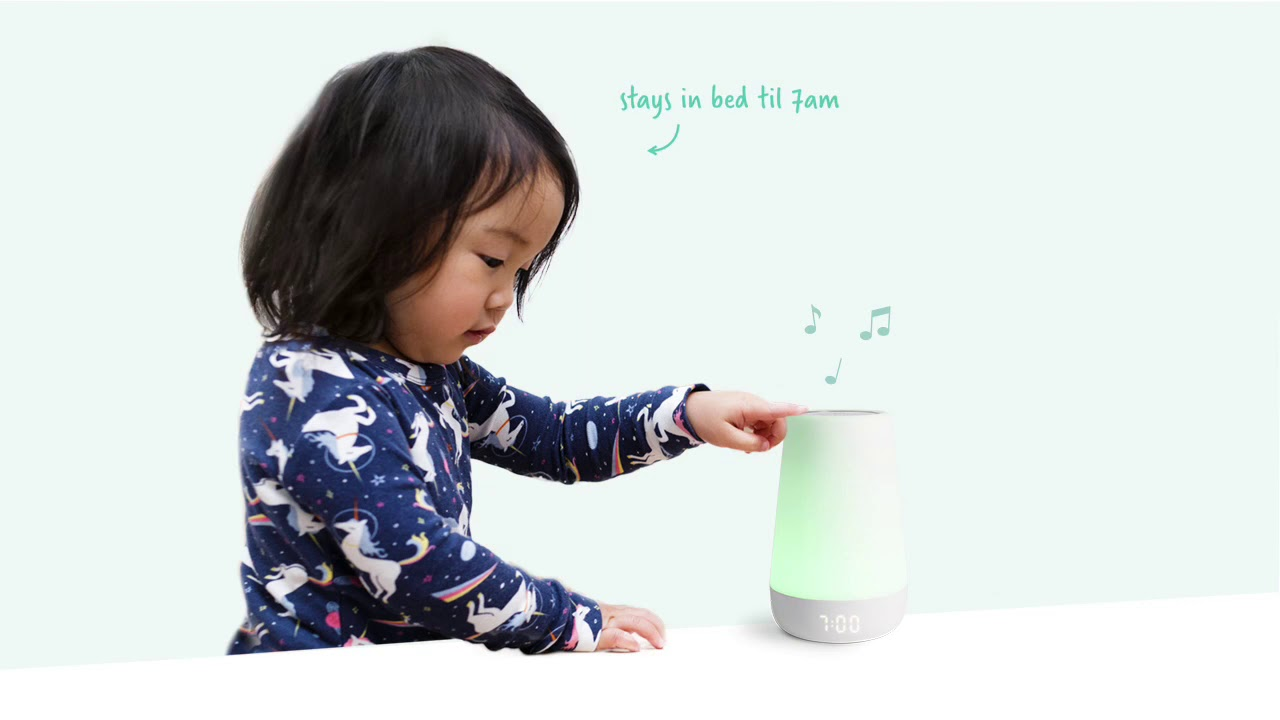 Hatch Rest+ Baby Audio Monitor, Sound Machine, and Time to Rise Touch Ring