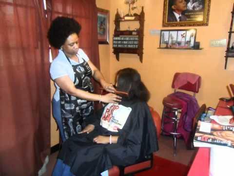 Short Haircuts Makeover L Black Hair Salon Houston Youtube