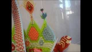 3d Origami  Peacock  And Swan-vts_01_1.vob
