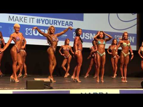 3rd Callout  Prejudging  Miss Toned Figure  USN NABBA Universe 2017