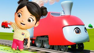Bus, Cars and Trucks - Vehicle Counting Color Song | Little Baby Bum | Kids Cartoons