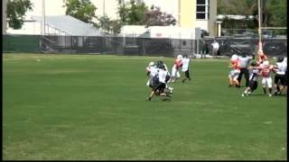 Ferguson vs South Miami Spring Game 2013