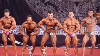 Categoría Juvenil hasta 80, 85, 90 y más de 90 kg - Mr. México Juvenil y Veteranos 2014