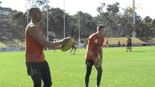 Tom Scully faces Demons