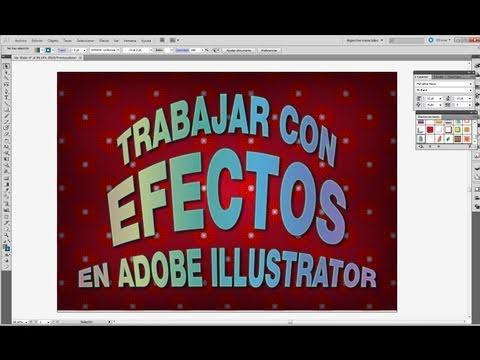 Tutorial Illustrator // Trabajo con efectos