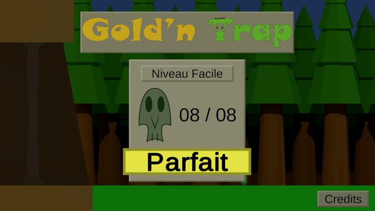 Portfolio - Gold'n Trap Gameplay