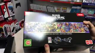 Super Smash Bros Limited Edition Nintendo Switch Kutu Açılımı!