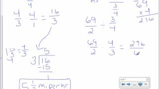 7th Grade 1-2: Complex Fractions And Unit Rates