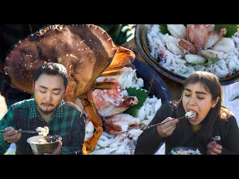MOUTHFUL OF DUNGENESS CRAB IN EVERY BITE | Epic Dungeness Catch And Cook