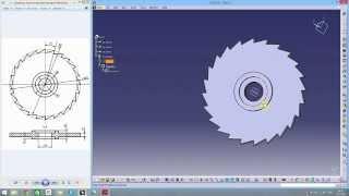 Catia tutorial milling cutter