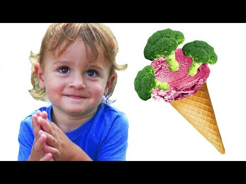 Do You Like Broccoli Ice Cream? | Nursery Rhymes & Kids Songs - LETSGOMARTIN