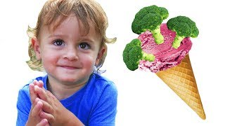 Do You Like Broccoli Ice Cream? | Nursery Rhymes & Kids Songs - LETSGOMARTIN