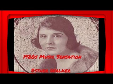 1920's Music Sensation (1927) - Esther Walker-- I Ain't That Kind Of A Baby @Pax41