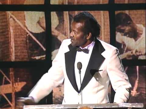 Chuck Berry Inducts Willie Dixon into the Rock and Roll Hall of Fame