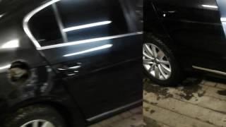 разборка обшивки задней и передней двери на  Volkswagen Passat  7