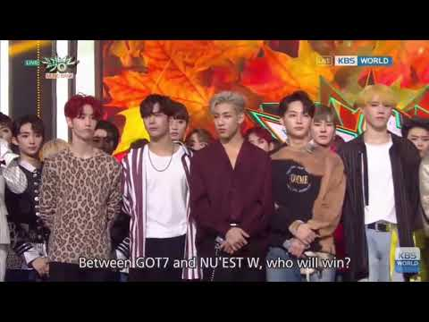 (201017)Nu'Est W 2nd Win Where You At On Music Bank