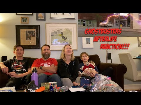 GHOSTBUSTERS AFTERLIFE - Official Trailer REACTION!!!!!